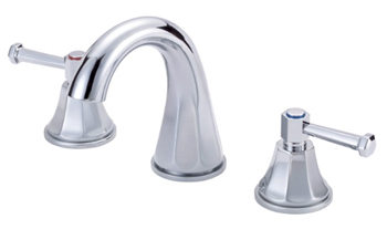 Danze D304268 Brandywood Two Lever Handle Widespread Lavatory Faucet with High-Rise Spout Chrome