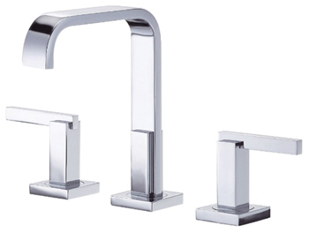Danze D304544 Sirius Trim Line Two Handle Widespread Lavatory Faucet Chrome