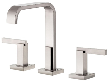 Danze D304544BN Sirius Trim Line Two Handle Widespread Lavatory Faucet Brushed Nickel