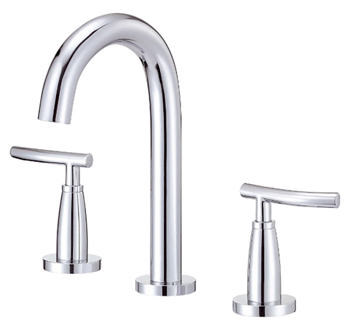 Danze D304554 Sonora Trim Line Two Handle Widespread Lavatory Faucet Chrome