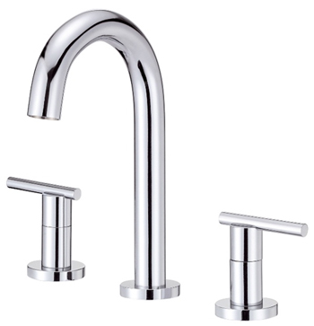 Danze D304558 Parma Trim Line Two Handle Widespread Lavatory Faucet Chrome