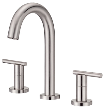 Danze D304558BN Parma Trim Line Two Handle Widespread Lavatory Faucet Brushed Nickel