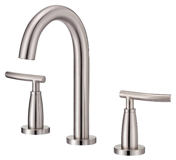 Danze D304554BN Sonora Trim Line Two Handle Widespread Lavatory Faucet Brushed Nickel