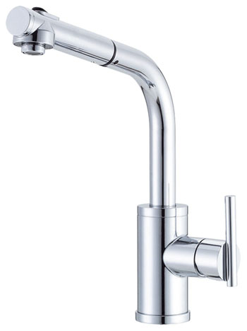 Danze D404558 Parma Single Handle Pull Out Kitchen Faucet   Chrome