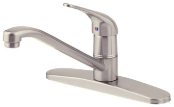 Danze D406012SS Melrose Single Handle Kitchen Faucet Stainless Steel