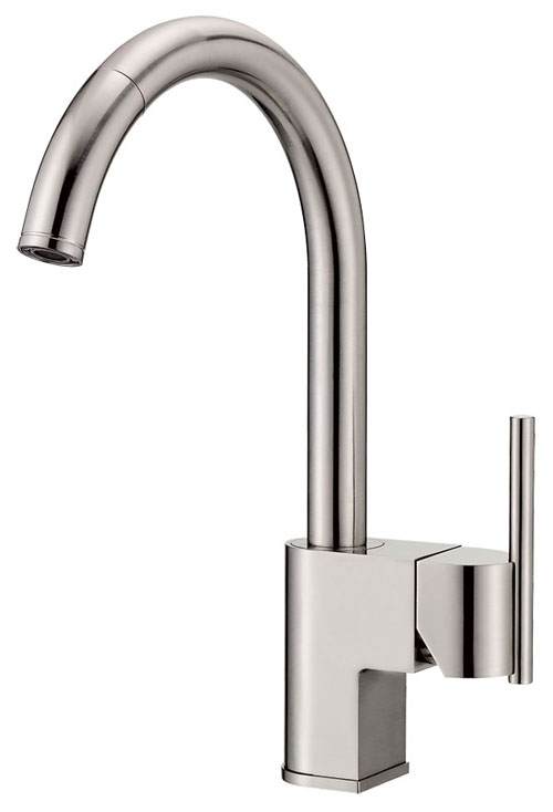 Danze D457144SS Como Single Handle Pull-Down Kitchen Faucet Stainless Steel