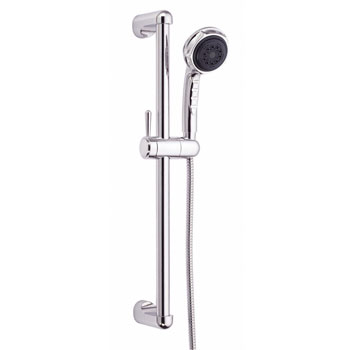 Danze D465005 Three Funtion Personal Hand Shower with Slide Bar - Chrome