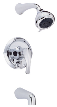 Danze D510046T Corsair Single Lever Handle Tub & Shower Faucet Trim Kit - Chrome