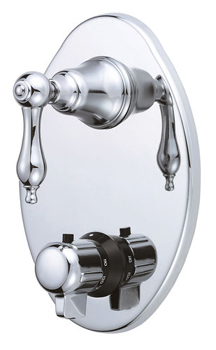 Danze D560140T Fairmont Two Handle Thermostatic Shower Trim Kit - Chrome