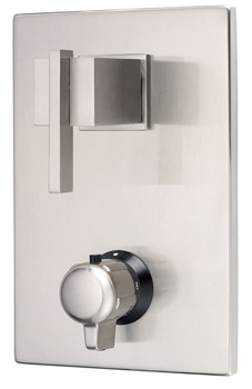 Danze D560144BN Sirius Two Handle Thermostatic Shower Valve with Trim - Brushed Nickel