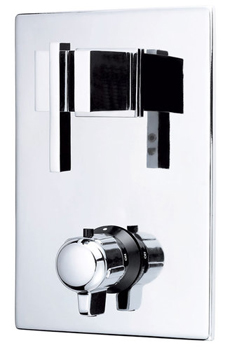 Danze D560144T Sirius Two Handle Thermostatic Shower Trim Kit - Chrome