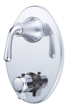 Danze D560156T Bannockburn Two Handle Thermostatic Shower Trim Kit - Chrome