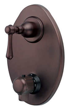 Danze D560157RB Opulence Two Handle Thermostatic Shower Valve with Trim - Oil Rubbed Bronze