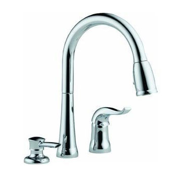 Delta 16970-SD-DST Kate Kitchen Faucet - Chrome