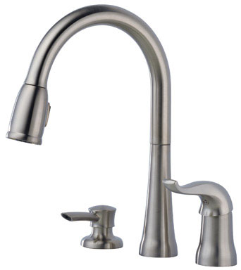 Delta 16970-SSSD-DST Kate Single Handle Pulldown Kitchen Faucet - Stainless Steel