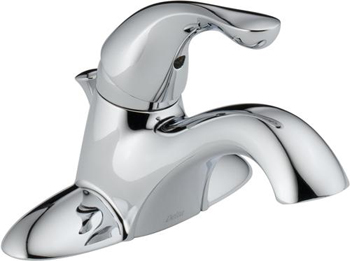 Delta 520-MPU-DST Classic Single Handle Centerset Lavatory Faucet - Chrome