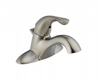 Delta Bathroom Faucets on Delta 520 Ss Dst Single Handle Bathroom Faucet   Stainless Steel