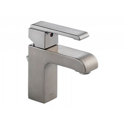 Delta 586LF-SSMPU One Handle Lavatory Bathroom Faucet - Stainless Steel
