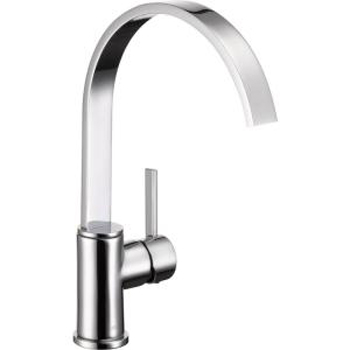 Delta 26602LF Mandolin Single-Handle Kitchen Faucet - Chrome