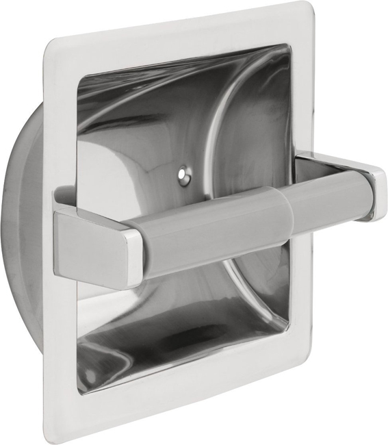 Delta 45070ST Commercial Recessed Tissue Holder - Stainless Steel