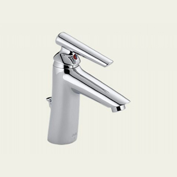 Delta Faucet 582-WF Single Handle Bathroom Faucet - Polished Chrome