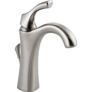 Delta Faucet  592-SS-DST Addison One Handle Lav Faucet - Stainless Steel