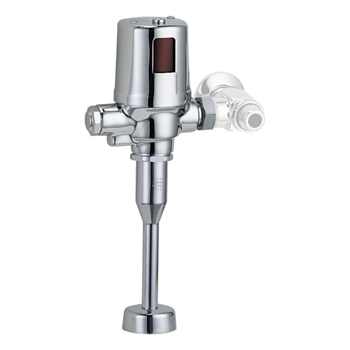 Delta 81T231BTA-30 13 in. Exposed Battery-Operated Flush Valve - Chrome