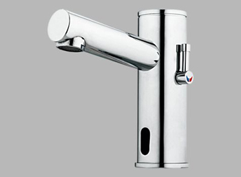 Delta Commercial DEMD-311 Electronic Bathroom Faucet with Mixer - Chrome