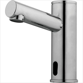 Delta Demd 301 Commercial Electronic Bathroom Faucet For Pre Mixed Water Chrome