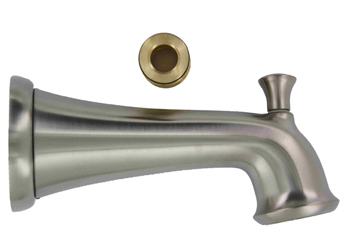 Delta RP52153SS Pull-Up Diverter Tub Spout - Stainless Steel