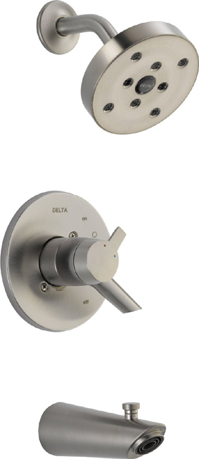 Delta T17461-SS Compel 17 Series MC Tub/Shower Trim - Stainless Steel