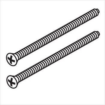 Delta RP196 Escutcheon Screws - Chrome