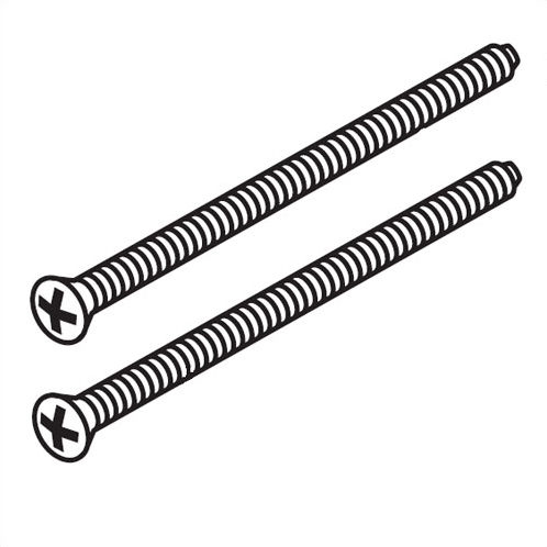 Delta RP196RB Escutcheon Screws - Chrome
