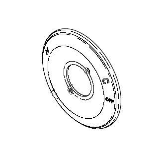 delta rp escutcheon chrome faucetdepotcom
