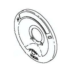 Delta RP6046 Escutcheon For Push Button Diverter - Chrome