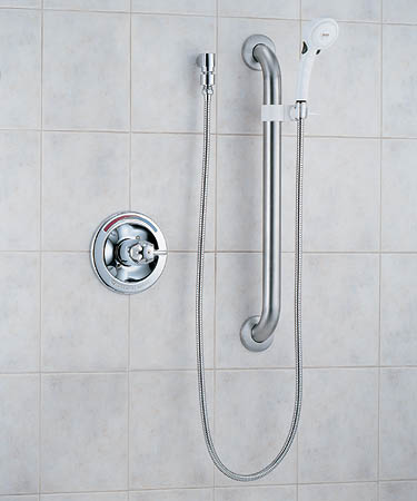 delta commercial t13h153 shower trim with bar chrome