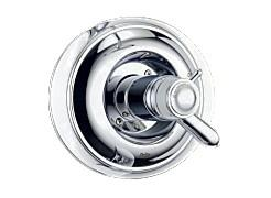 Delta T17T030 Innovations TempAssure Valve Only Trim With Volume Control - Chrome