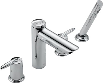 Delta T4785 Grail Roman Tub With Hand Shower - Chrome