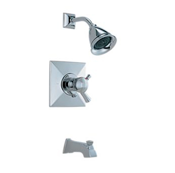 Brizo T60440-PC Thermostatic Tub & Shower Trim Kit - Chrome