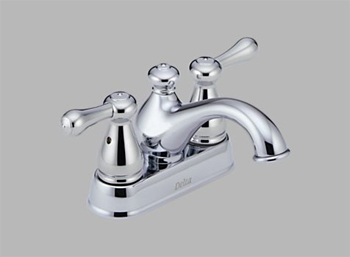 Delta 2578LF-278 Leland Two Handle Centerset Lavatory Faucet Chrome