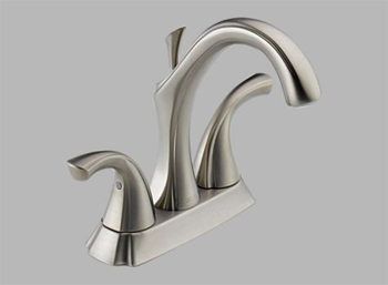 Delta 2592-SS Addison Two Handle Centerset Lavatory Faucet Brilliance Stainless