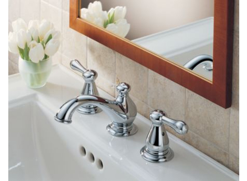 Delta 3578LF-278 Leland Two Handle Widespread Lavatory Faucet Chrome