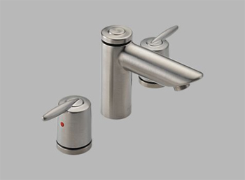 Delta 3585LF-SSMPU Grail Two Handle Widespread Lavatory Faucet Brilliance Stainless