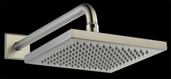 Delta 57740-SS Arzo Touch-Clean(R) Raincan Showerhead with Shower Arm and Flange Brilliance Stainless