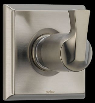 Delta T11851-SS Dryden 3-Setting Single Handle Diverter Trim - Brilliance Stainless