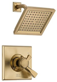 Delta T17251-CZ Dryden Monitor(R) Pressure Balance Shower Trim with Volume Control - Champagne Bronze