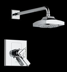 Delta T17286 Arzo Monitor(R) 17 Single Handle Shower Trim Chrome