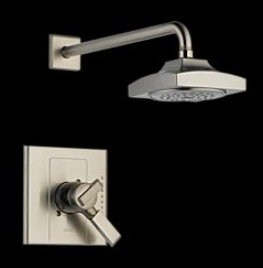 Delta T17286-SS Arzo Monitor(R) 17 Single Handle Shower Trim Brilliance Stainless