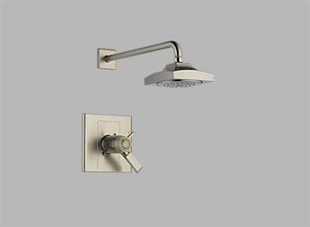 Delta T17T286-SS Arzo TempAssure 17T Single Handle Shower Trim Brilliance Stainless