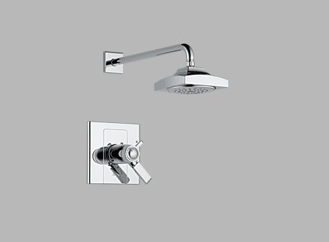 Delta T17T286 Arzo TempAssure 17T Single Handle Shower Trim Chrome
